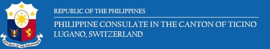 Philippine Consulate in Ticino Logo
